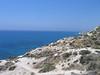 Cesta podél pobřeží, vzadu Petra tou Romiou, foto: Milan Frydryšek
