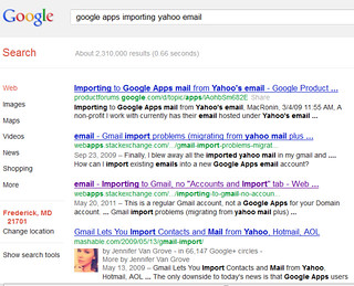 Google Apps Domain Email Import From Yahoo Broken | Google A… | Flickr