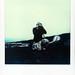 Polaroid von Joh mit der 100er am Etna