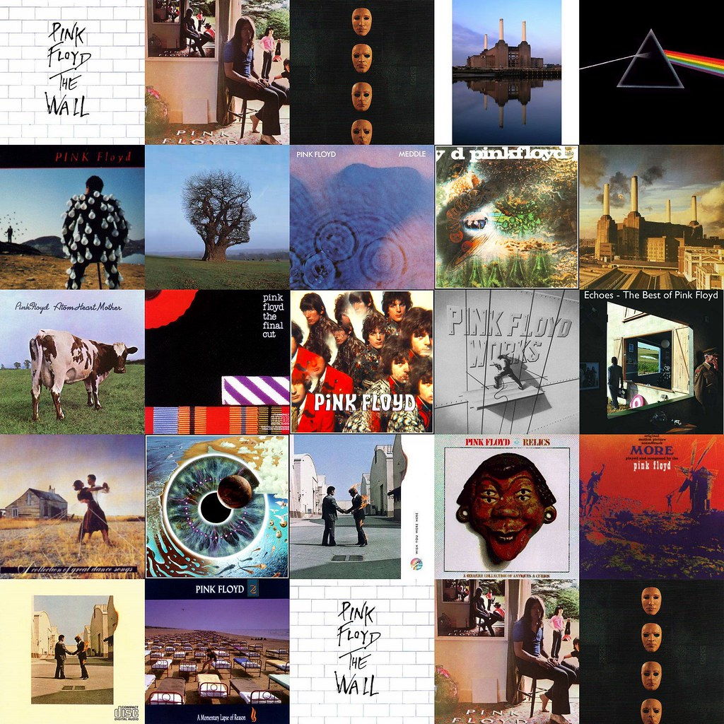 pink-floyd-album-covers | solagusfruka | Flickr