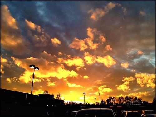 sunset sky safeway iphone kentwa