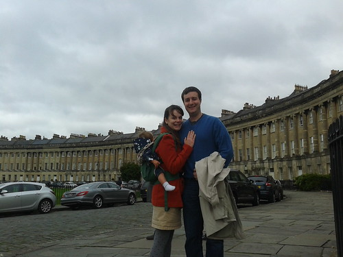 Sergio and Sherrie at the Royal Crescent