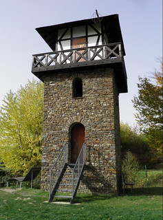 WP 1/1 - Reconstructed Limes Watchtower (not historically correct), Rheinbrohl, Limes Germanicus