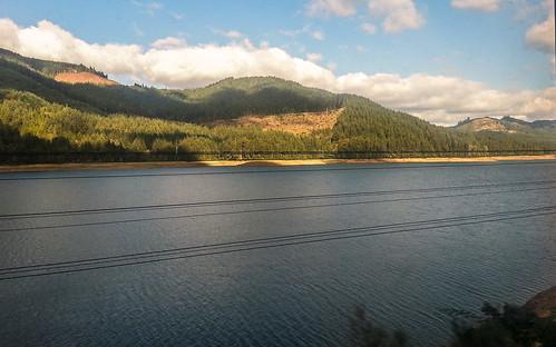 trees mountains oregon train landscape amtrak cascades rockymountains s3 coaststarlight