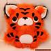 Lil Tiger Toy by loveandasandwich