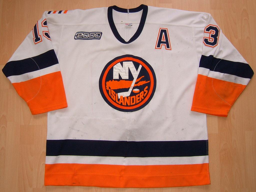 on sale d3625 63fba New York Islanders 1999 - 2000 home Game Worn Jersey | Flickr