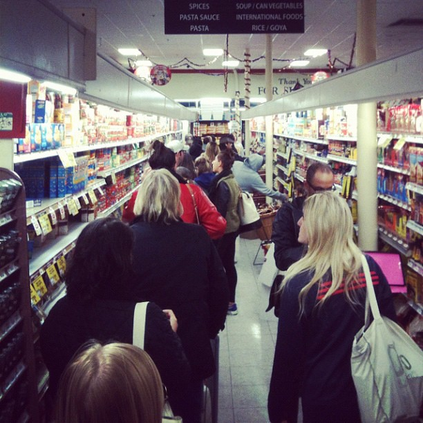 Image result for long store lines