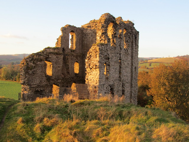UK - Shropshire - Clun - Clun Castle