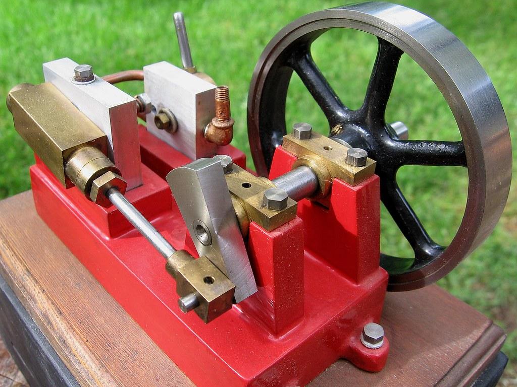 Homemade Steam Engine Robert Bob Hammell Flickr