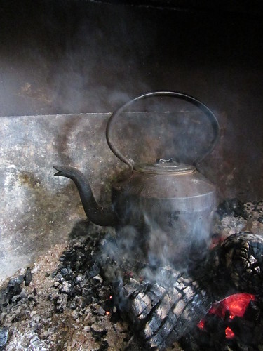 fireplace tea kettle