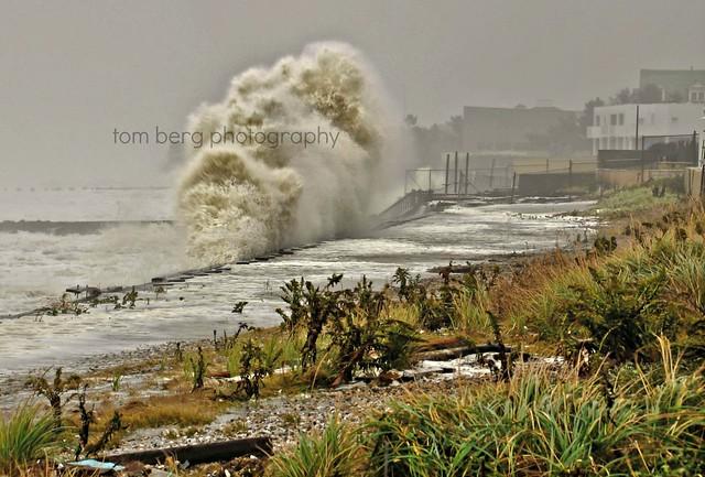 Hurricane Sandy 10/29/12..Elberon NJ