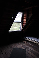 An Attic Window in Logan Mansion, Shreveport