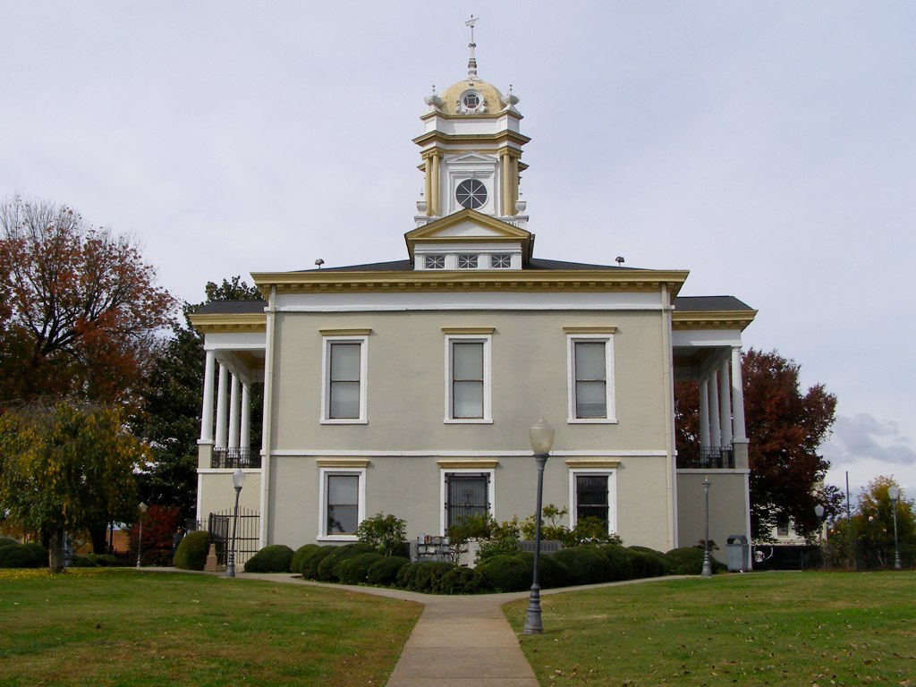 Burke County (NC) Old Courthouse