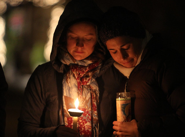 Candlelight Vigil for Sandy Hook