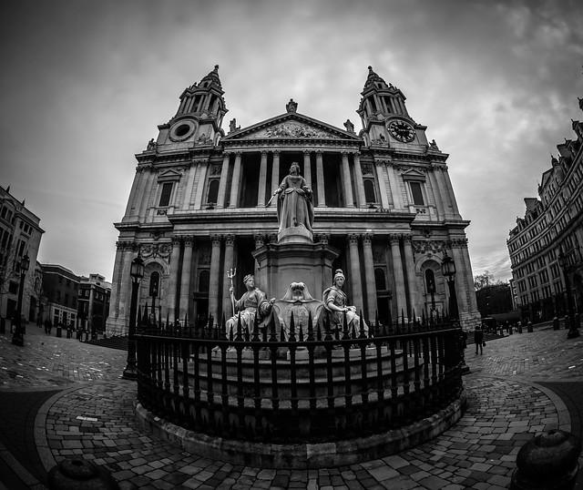 St Paul's fish-eye