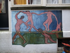La Danse, Matisse on a wall in Amsterdam