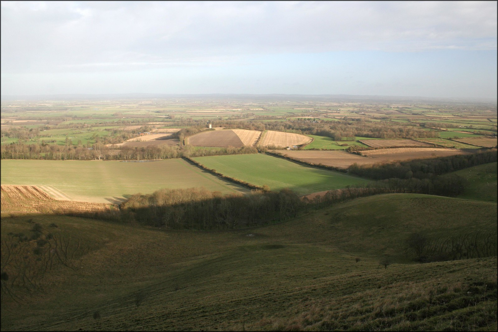 The South Downs near Firle