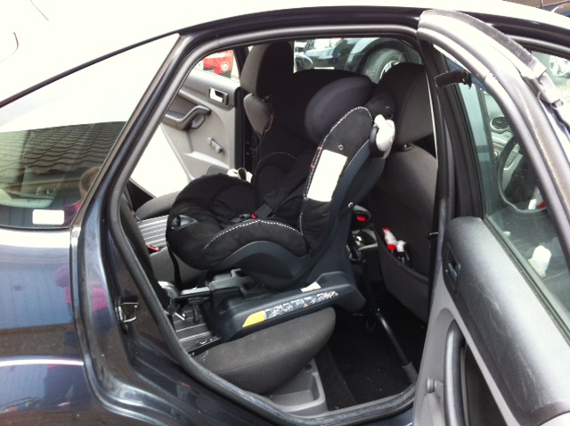 Besafe Izi Combi Isofix In A Ford Focus 2008 Securatot Flickr