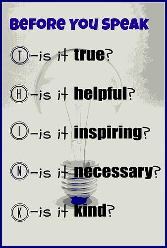 THINK   by mrsdkrebs