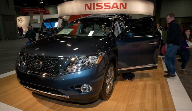 2013 Washington Auto Show - Lower Concourse - Nissan 4