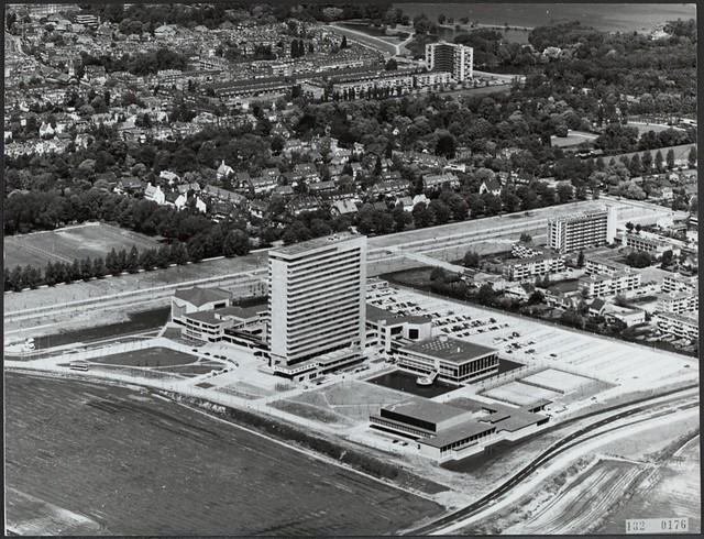Erasmus Universiteit luchtfoto