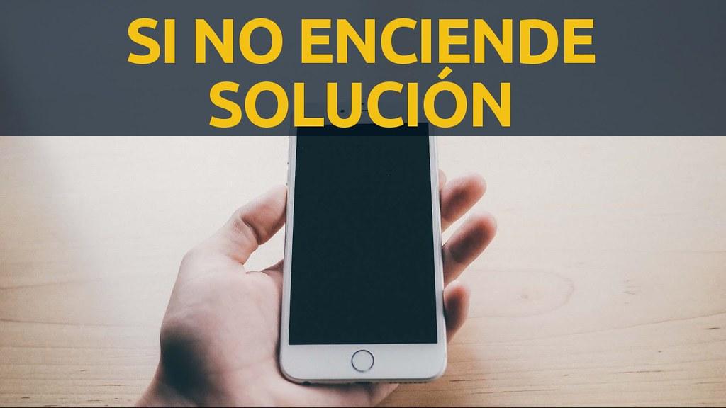 Mi iPhone no prende, no se enciende la pantalla está negra solución español en ios