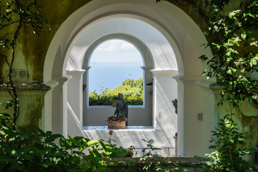 Capri Villa San Michele Loggia View Le Monde1 Flickr