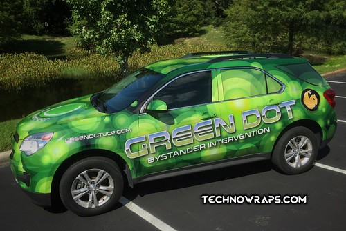 Vinyl vehicle wrap by TechnoSigns in Orlando, Florida
