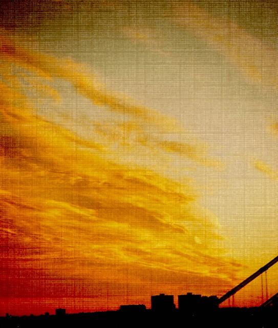 sunset...edited