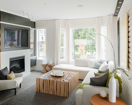 Red Maple Park - Living Room | by Polygon Homes