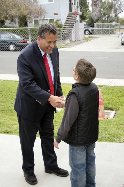 Juan meets a future voter