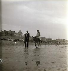 Scheveningen Strand 07 Ezeltje rijden
