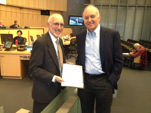Proclamation honoring the life of Jack Benaroya, June 2012 | by Seattle City Council