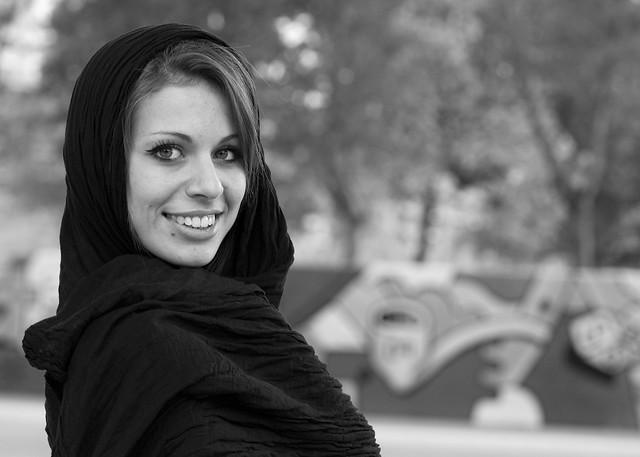 Sorriso in Bianco e Nero - Book in esterna con Laura