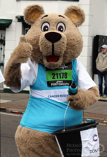 Great South Run - The Bear | by Hexagoneye Photography