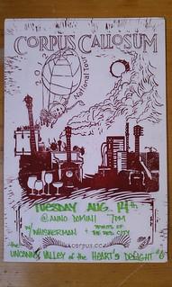 2012 tour poster (2012-6-14)