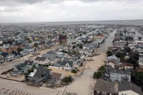 Aerial photos of New Jersey coastline in the aftermath of Hurricane Sandy [Image 12 of 19]   by DVIDSHUB