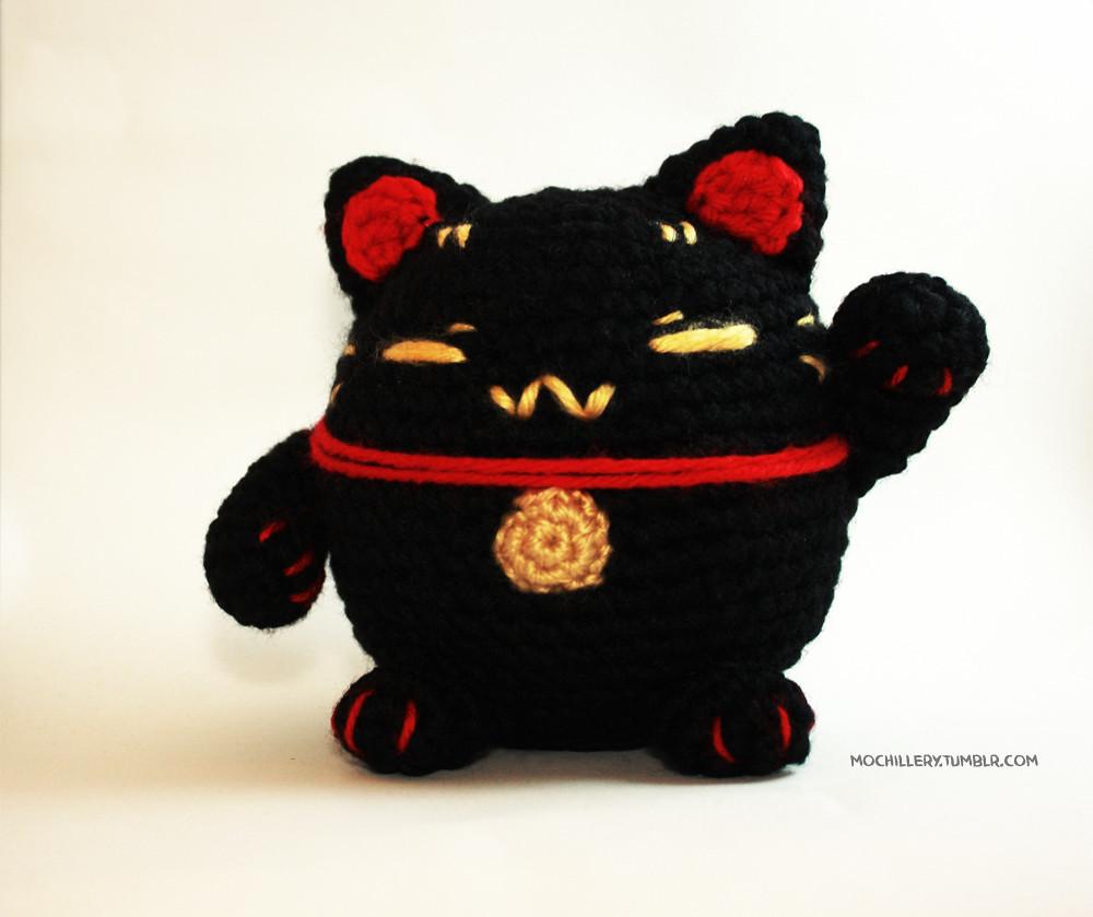 PDF Pattern Amigurumi Maneki Neko Lucky Cat Pattern | Etsy | 839x1000
