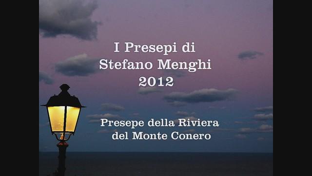 I presepi di Stefano Menghi 2012