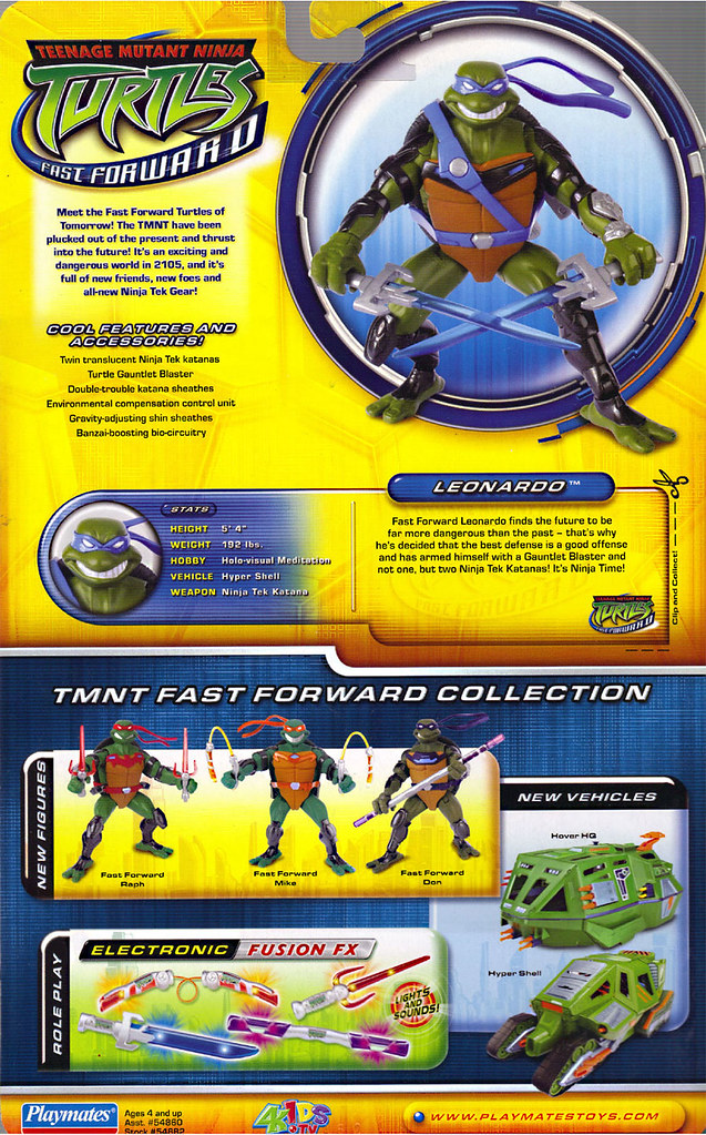 Teenage Mutant Ninja Turtles Fast Forward Leonardo Flickr