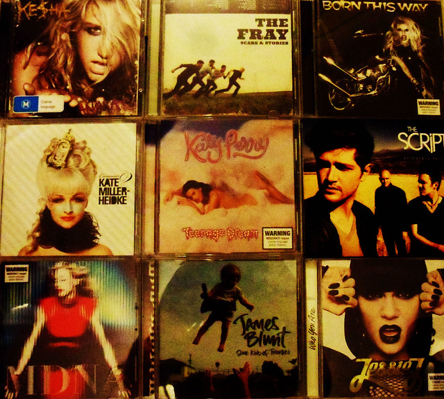 cds in the music industry today