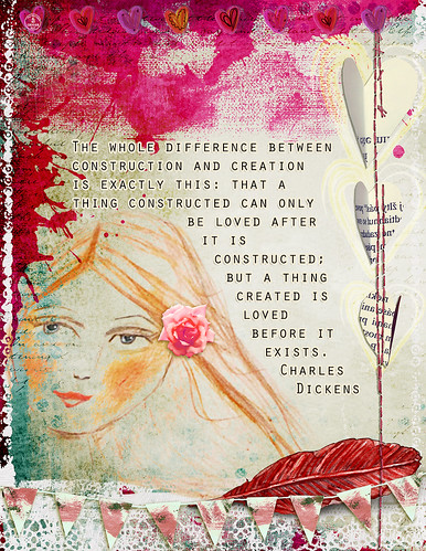 Digital Art Journal: Dickens Quote | by ecooper99