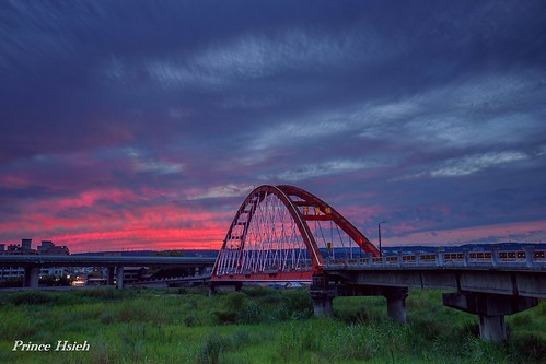 sunset 南投 nantoutaiwan 夕燒 sonya850 sony1635za 綠美橋lumeibridge