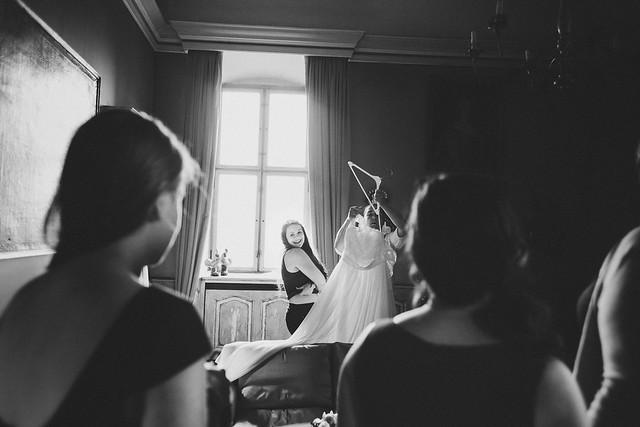 Dressed Bride