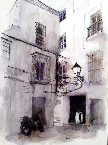 ruelle de Tarifa ( province de Cadix) | by CROQUISNEUR
