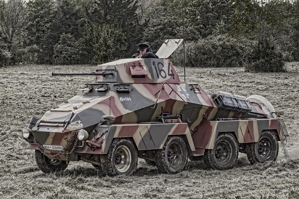Sd.Kfz. 231 German amoured car