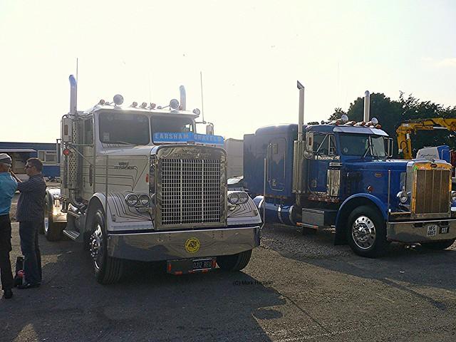Trucks at Truck Attack 2008 at Donington Park