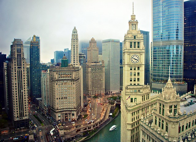 View from Tribune Tower 24th Floor Offices