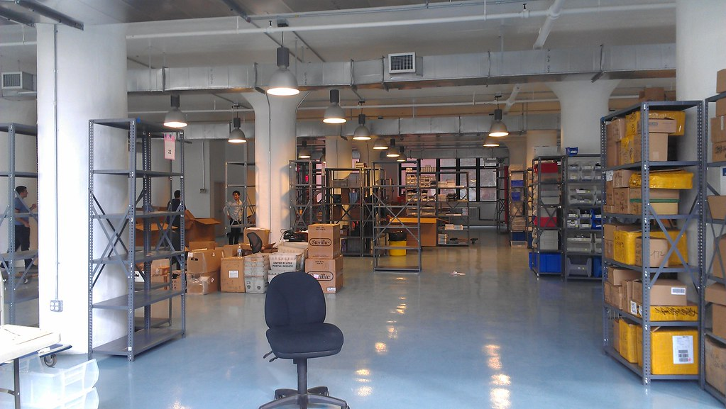 New Adafruit office - moving in | Becky Stern | Flickr