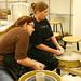 Centrifugal Force: Wheel Throwing class at Maud Morgan Arts